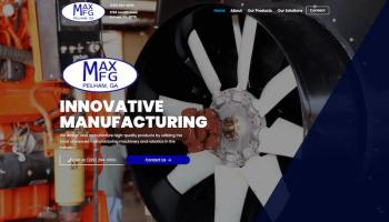 Max Manufacturing (maxmfgonline.com)