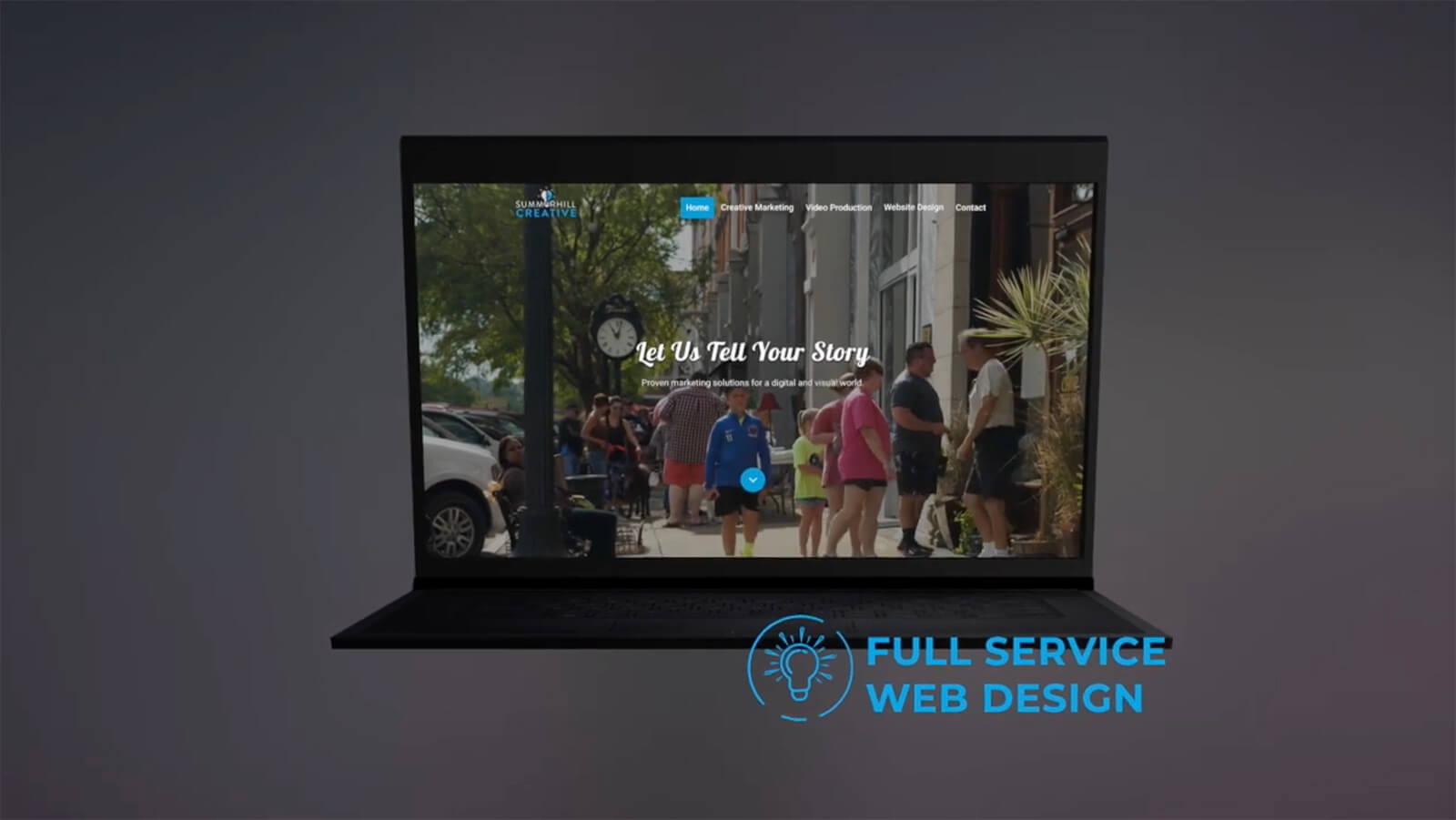 website design video image-summerhill creative